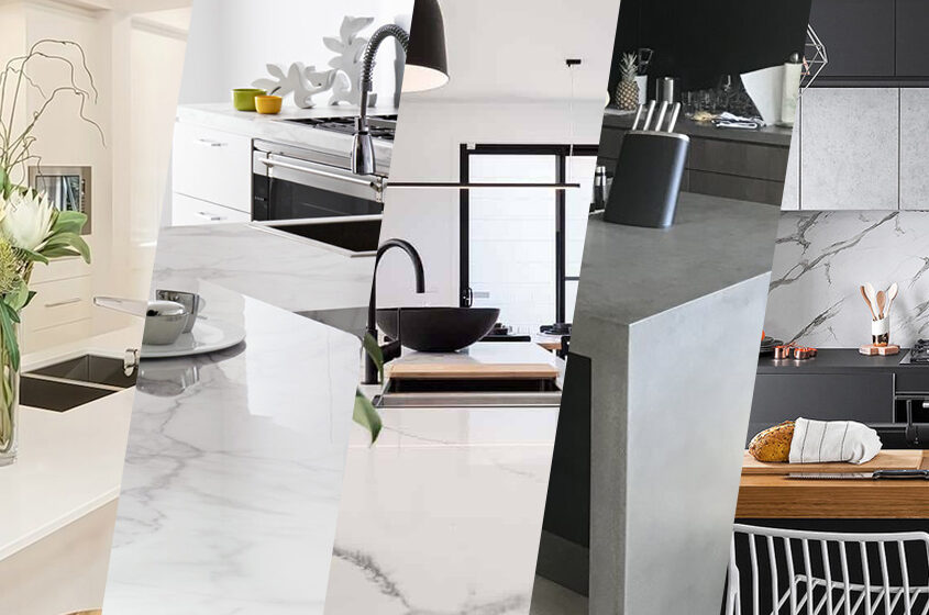 5 Great Benchtop Materials