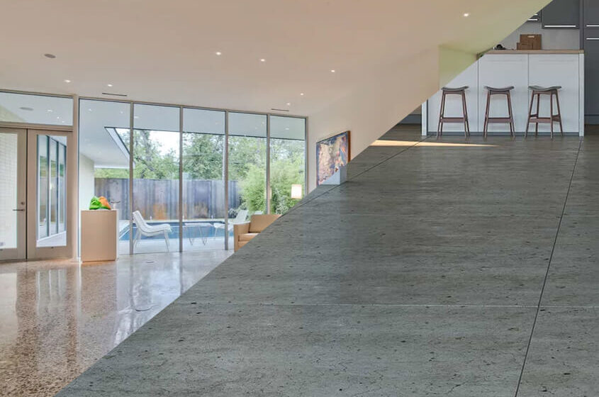 What is the Difference between Sealed and Polished Concrete?
